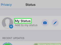 Wie kann man den WhatsApp-Status hinzufügen und die Privatsphäre des Status ändern